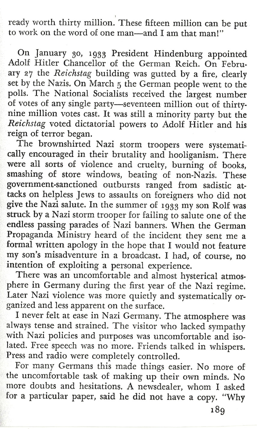 HVK and Hitler (Pg 3-1 A